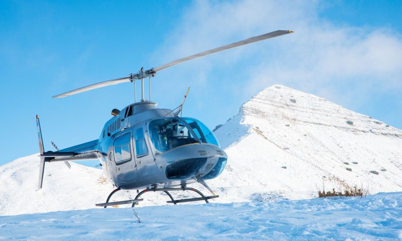 Are helicopter rides cold