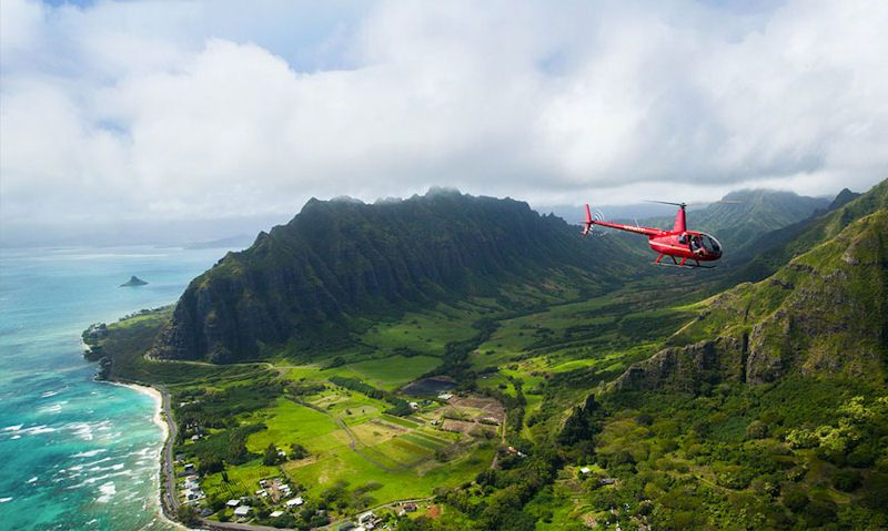 Best helicopter tours in Oahu