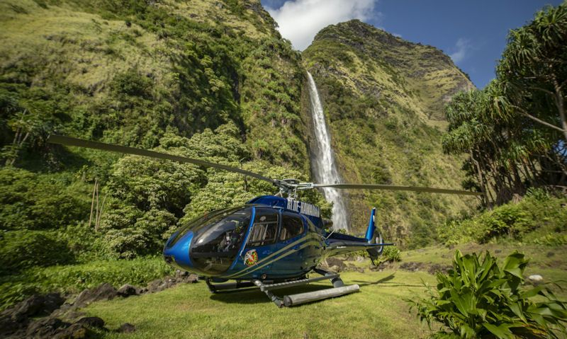 Best helicopter tours on the Big Island