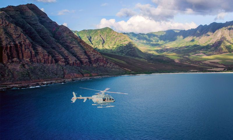 Cheap Oahu helicopter tours