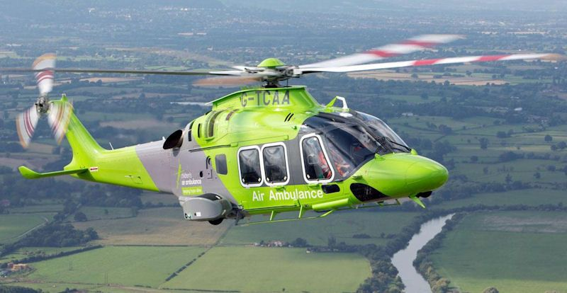 Children's Air Ambulance helicopter