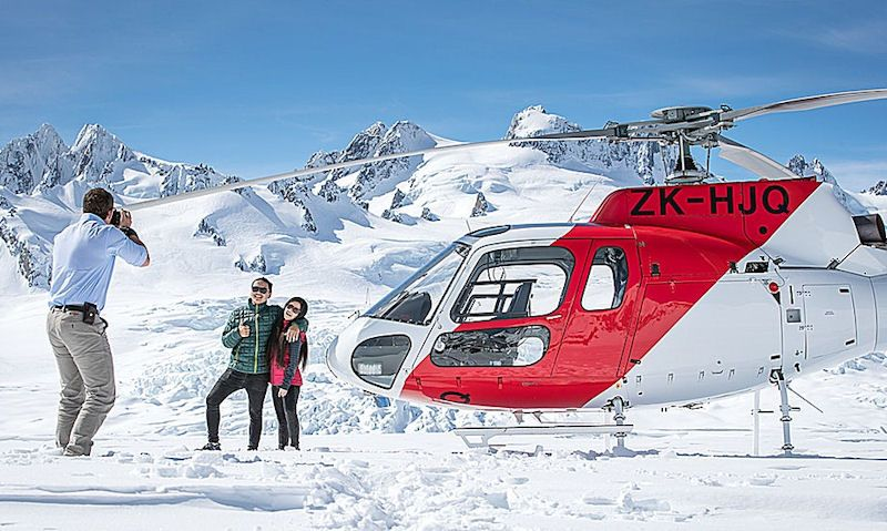 Franz Josef helicopter ride prices