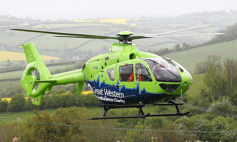 Great Western Air Ambulance helicopter