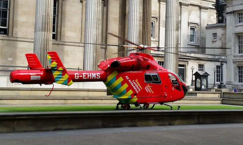 How many Air Ambulances are there in the UK