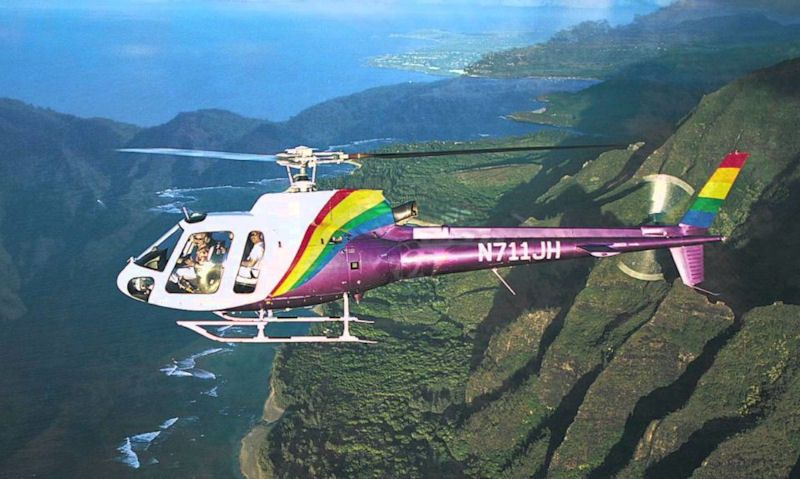 How much is a helicopter tour in Hawaii