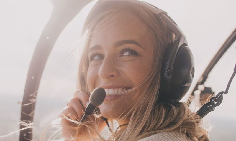 Is it safe to ride a helicopter while pregnant