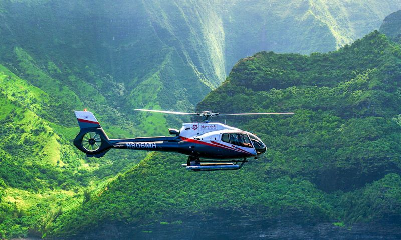Kauai helicopter tour: Morning or Afternoon