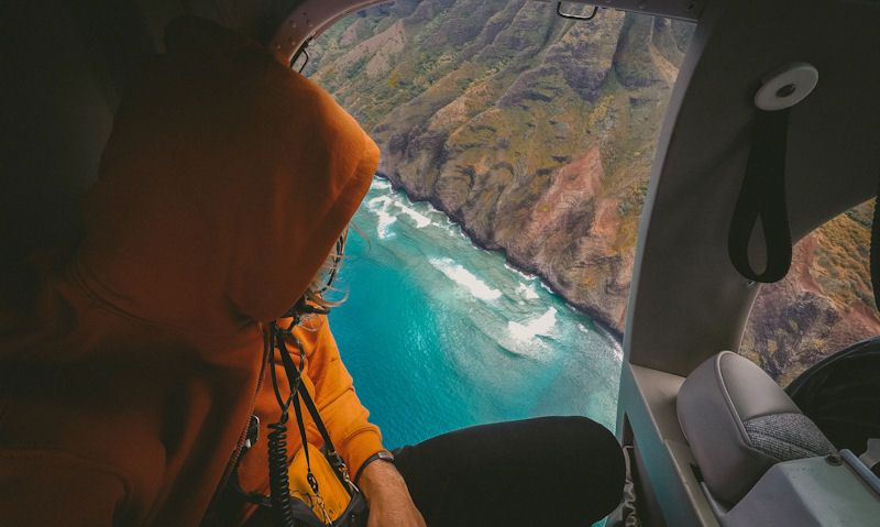 Kauai 'Open Door' helicopter tours