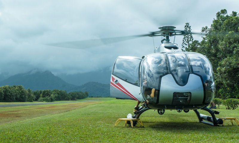 Kauai private helicopter tours