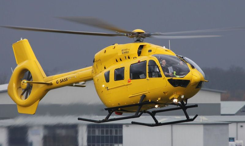 Scottish Air Ambulance helicopter
