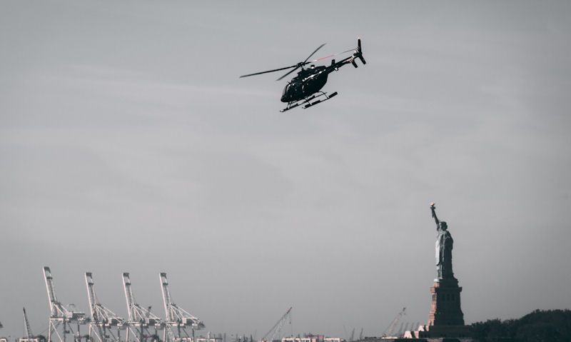 Statue of Liberty helicopter tour bypass