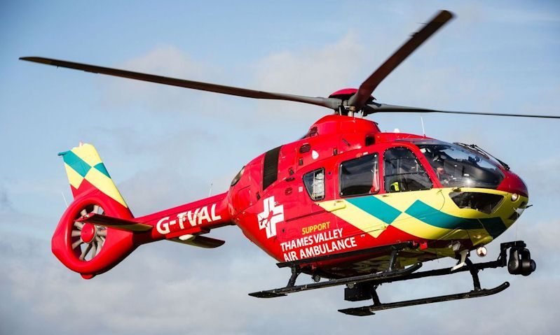 Thames Valley Air Ambulance helicopter