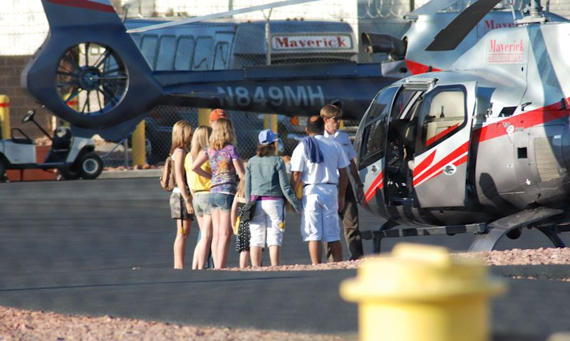 What to bring on a helicopter tour