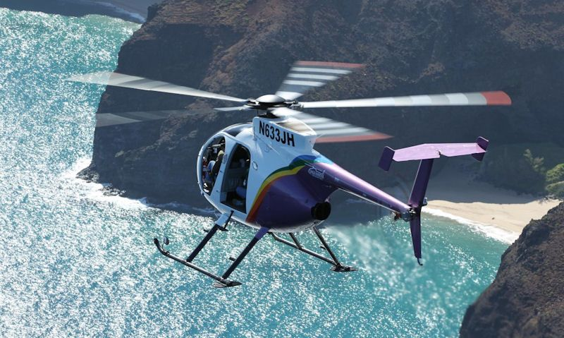 Which helicopter tour in Kauai is best