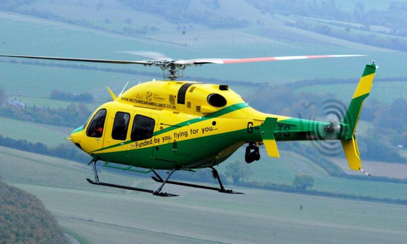 Wiltshire Air Ambulance helicopter